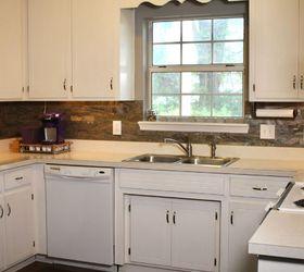 Elegant Peel Stick Kitchen Tile Install, Kitchen Design