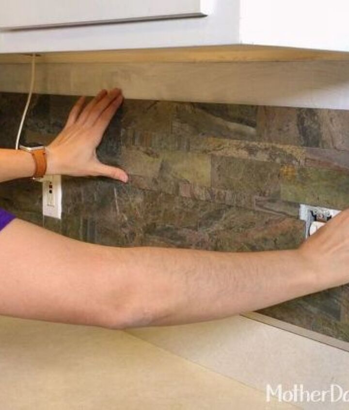 Peel Stick Kitchen Tile Install Hometalk