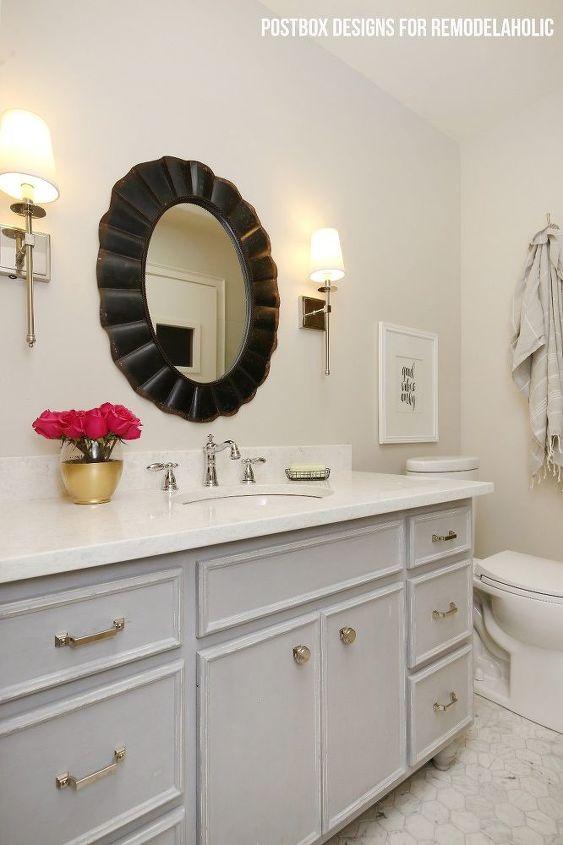 Budget Friendly Bathroom Makeover Hometalk