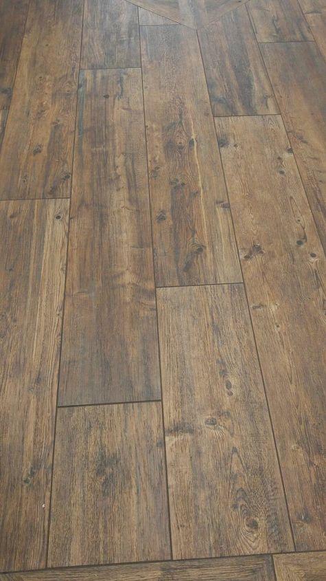 q porcelain wood tile floor, crafts