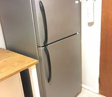 transform an old fridge, appliances