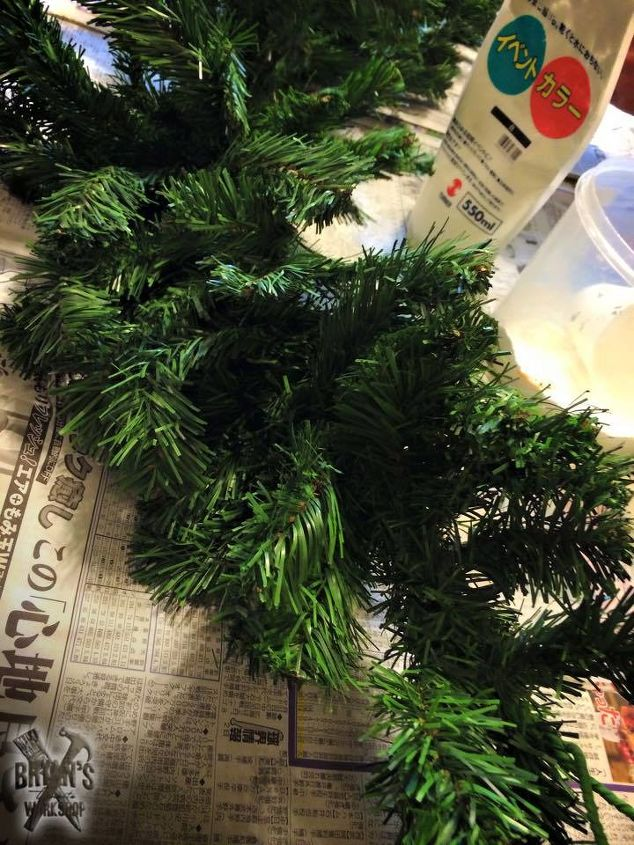 decorating cheapo garland for christmas, bathroom ideas, christmas decorations, cleaning tips, crafts, gardening, painted furniture, ponds water features, repurposing upcycling, seasonal holiday decor