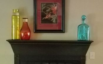 Is This the Same Fireplace??  Optical Illusion - With Simple Paint