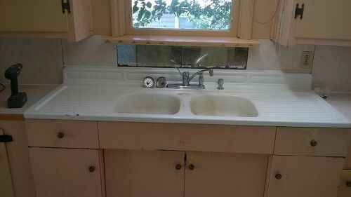 Removing A Cast Iron Kitchen Sink