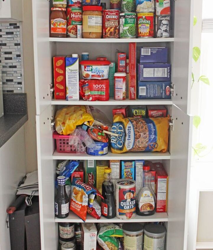 Open Shelf Pantry Storage: Create An Open Shelving Pantry With Ikea Shelves