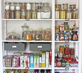 Create An Open Shelving Pantry With Ikea Shelves Hometalk