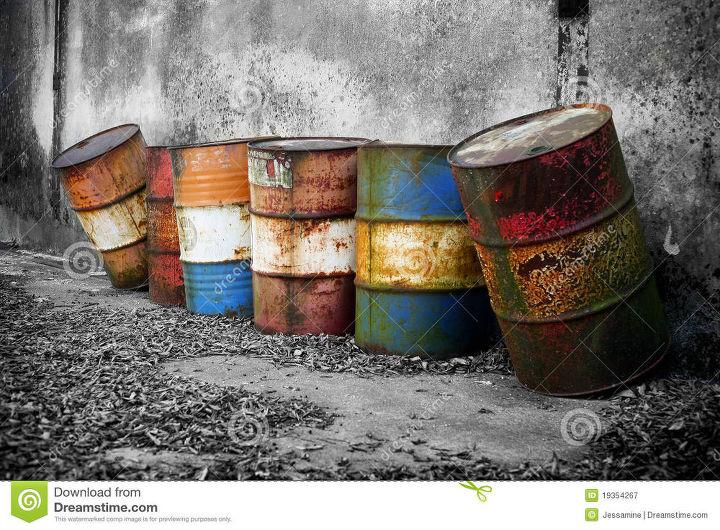 q old barrels, repurpose unique pieces