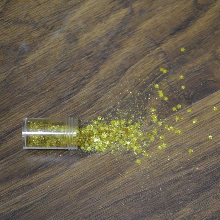 easiest way to clean glitter, cleaning tips