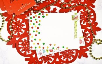 Personalize Your Holiday Cards With Washi Tape + Paint!