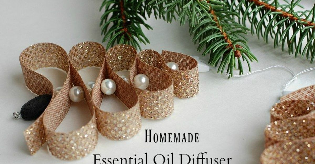 homemade essential oil diffuser christmas tree ornament hometalk