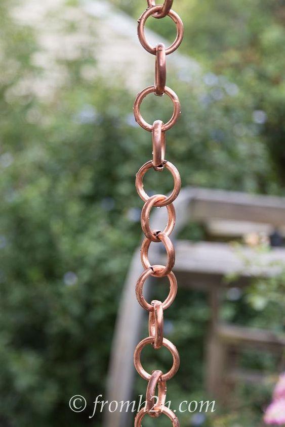 diy rain chain