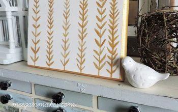 DIY Gold Wall Decor