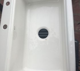 Q Can A Porcelain Kitchen Sink That Is Cracked And Chipped Be Repaired ,  Appliances,