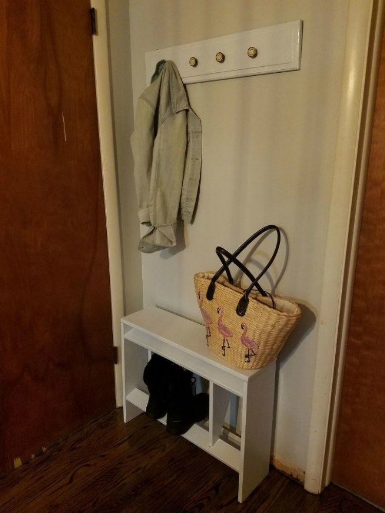 Foyer Hallway Xiii : Here s how to get a mudroom when you don t have an