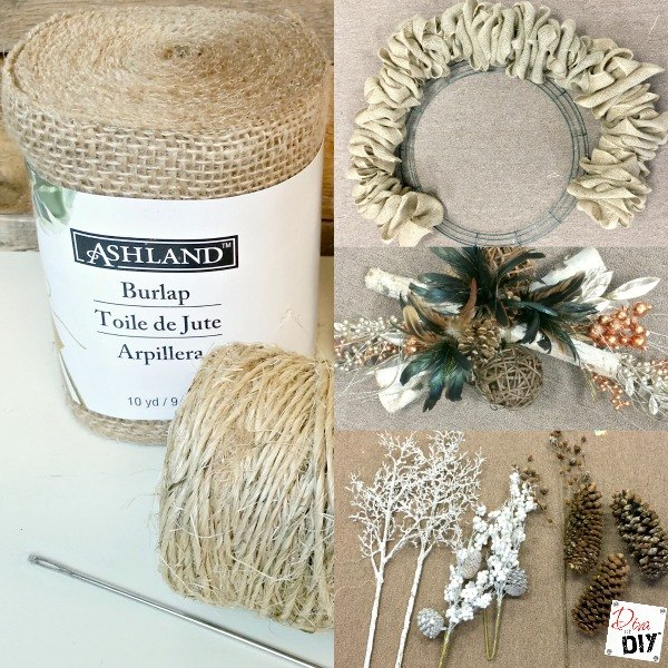 she pushes a needle through burlap what it becomes i love this christmas decor idea hometalk. Black Bedroom Furniture Sets. Home Design Ideas