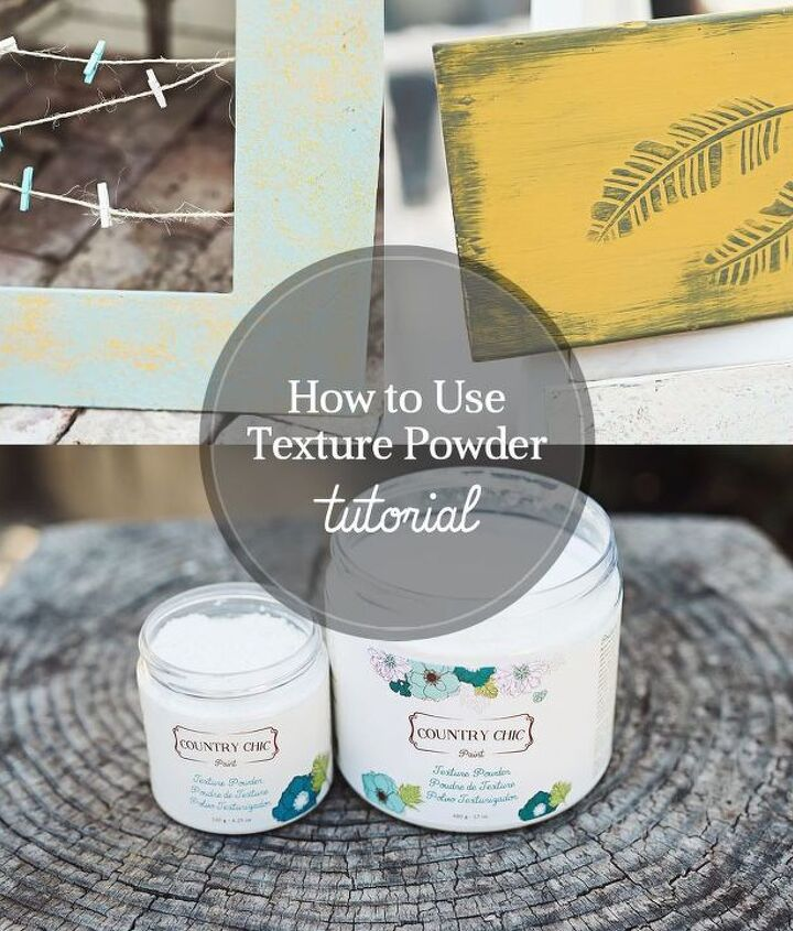 how to create embossed details with texture powder, how to