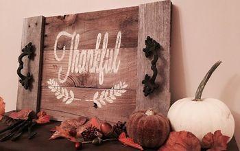 Decorative Holiday Tray Tutorial