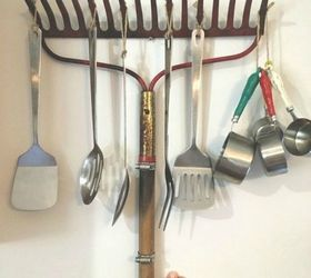 Repurpose An Old Rake For Your Baking Goods