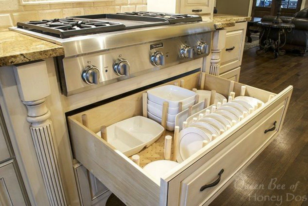 13 storage ideas that will instantly declutter your Organizing kitchen cabinets and drawers