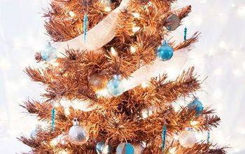 Metallic Copper Christmas Tree