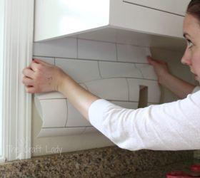 Wonderful Temporary Removable Backsplash, Kitchen Backsplash, Kitchen Design