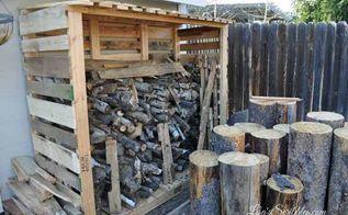 15 wood pallet shed, outdoor living, pallet