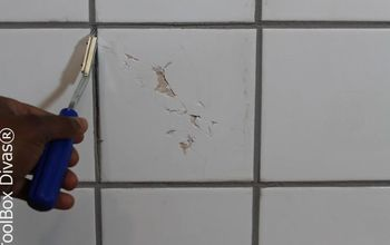 Save Money and Repair a Broken or Chipped Tile Yourself!