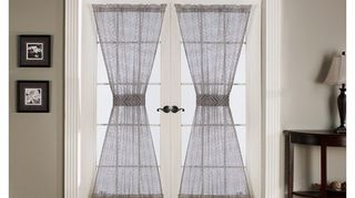 Because Of Your Transom Windows I Would Not Hang Draperies If There Is A Privacy Issue Then Use Something Like Sheer Curtains On Rod Pocket