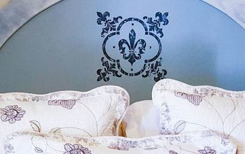 how to easily give your old headboard a dreamy farmhouse makeover, how to