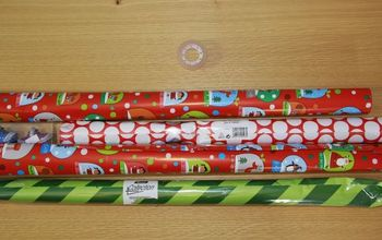 Wrap Your Presents With Just One Piece of Tape