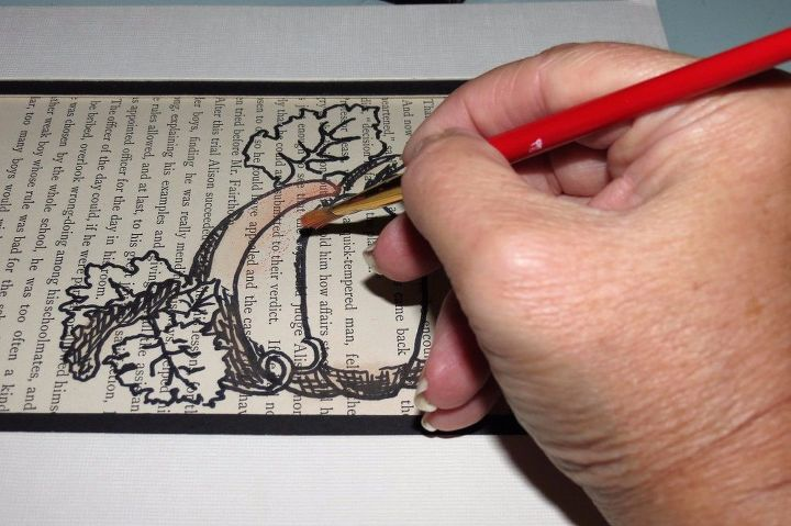 diy sharpie art you can finish before thanksgiving, crafts
