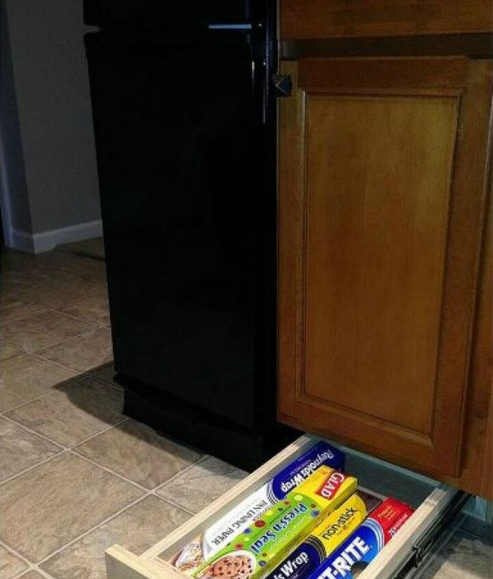 s add more pantry space with these brilliant hacks, closet, Build drawers to go under your cabinets
