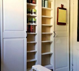 build your own small pantry shelf add more pantry space with these brilliant hacks   hometalk  rh   hometalk com