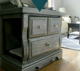 carve a hidden nook in a gorgeous end table