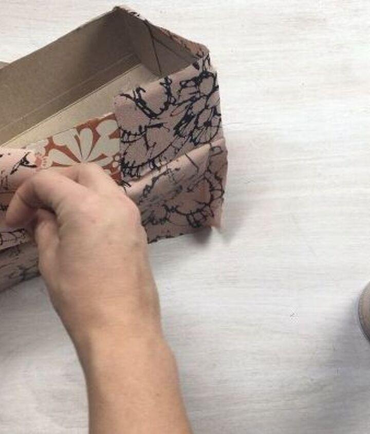 tissue box turned storage bins, composting, go green, storage ideas