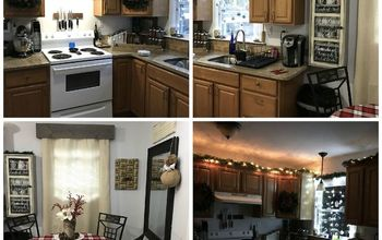 Kitchen Christmas Makeover