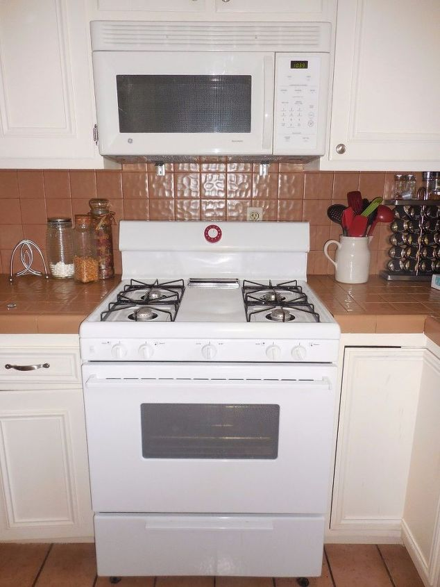 kitchen counter and back splash makeover, countertops, kitchen design