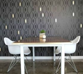 Trendy Designer Interiors That Use Modern Wall Stencils