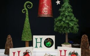 ho ho ho christmas decor, christmas decorations, home decor