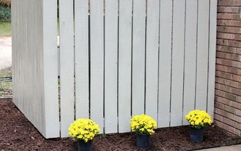 How to Repair a Fence Picket