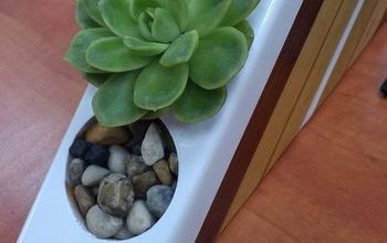 Turn a 70s Desk Organizer Into a Stunning Planter