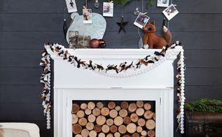 diy photo hanging tree branch