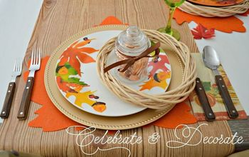 Set a Thanksgiving Table From the Dollar Store