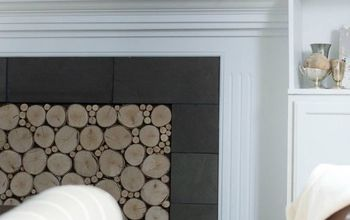 faux log fireplace insert, fireplaces mantels