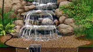 , Pondless waterfall diagram