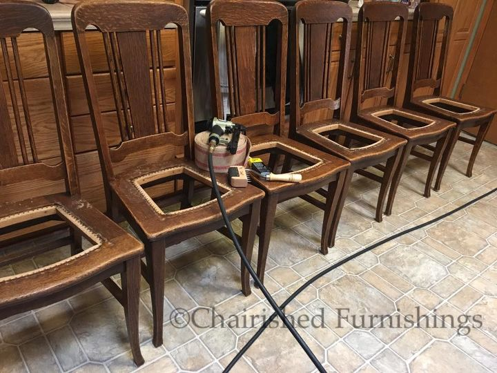 how to replace brittle cane seats with jute webbing, how to, All 6 chairs - How To Replace Brittle Cane Seats With Jute Webbing Hometalk