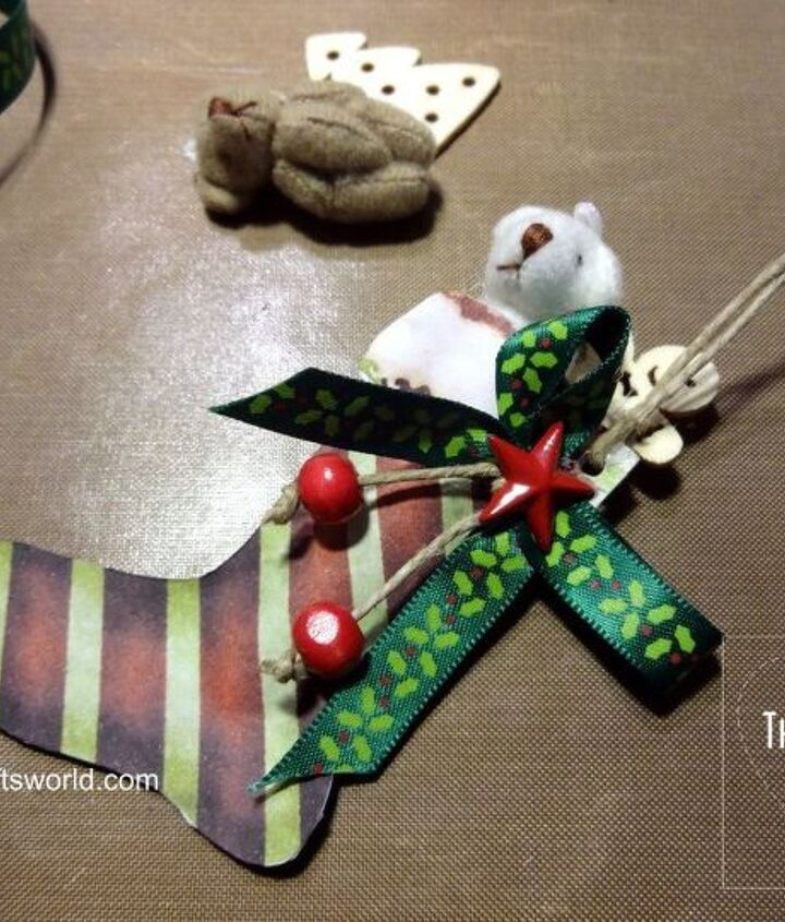 christmas stockings with tiny bears