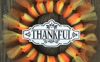 Easy Thanksgiving Wreath