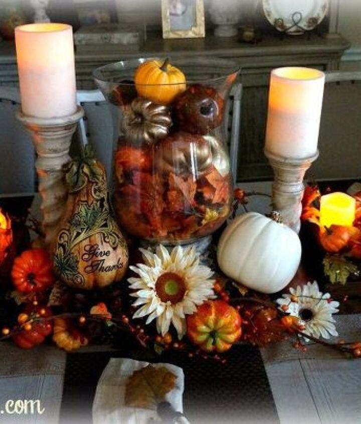 festive thanksgiving tablescape, seasonal holiday decor, thanksgiving decorations