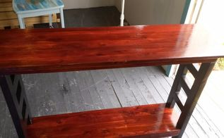 repurposed red cedar right off the curb , curb appeal, woodworking projects